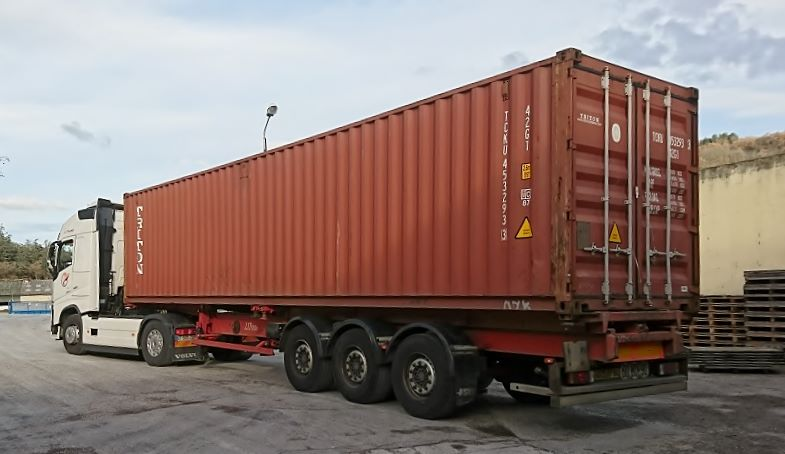Container pour Taiwan